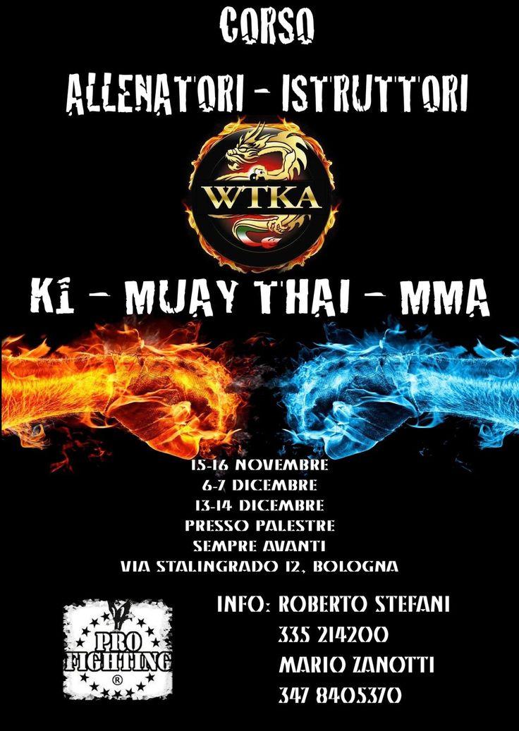 Sabato 15 e domenica 16 novembre presso #ThaiBoxe #Bologna ci sarà il corso allenatori - istruttori di #K1 #muaythai #MMA organizzato da #Palestra SempreAvanti #Boxe con un mio intervento su #alimentazione e #integrazione negli #sport da combattimento #PersonalTrainerBologna
