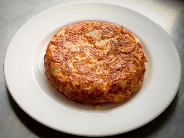 przepis na hiszpańską tortillę z Casa Pablo