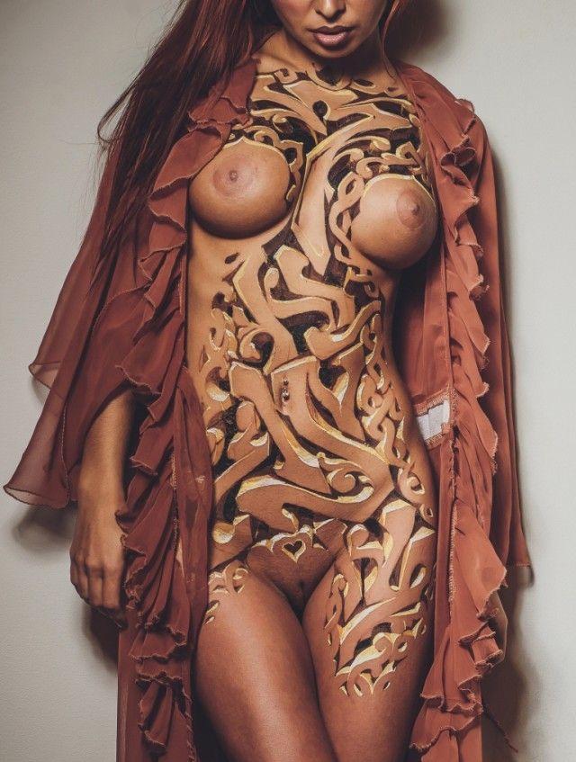 3D Carving – Graffiti Body Art – Znag – Russia