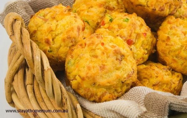 Bulk Savoury Muffin Recipe | Stay at Home Mum
