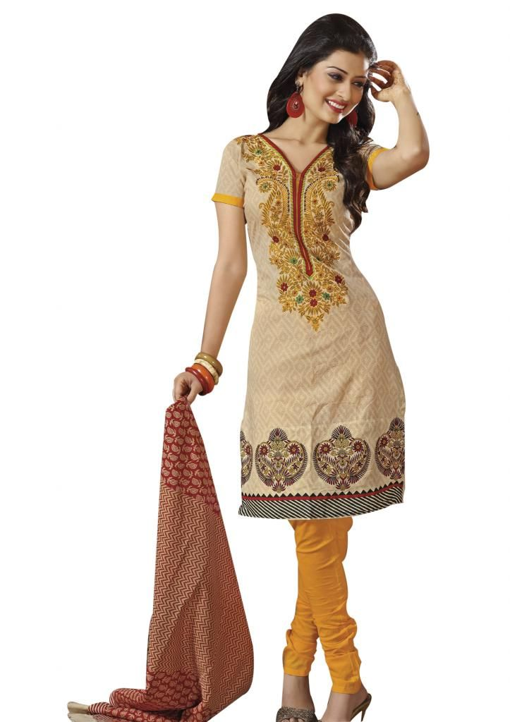Cotton Stitched suits from EthnicQueen.  Size: Large, Medium, Small, X-Large, X-Small, XX-Large  Free shipping * Easy returns * Cash on delivery!!!  Shop here: http://bit.ly/1znURjK