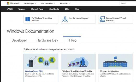 Windows Technical Documentation Now Moved To docs.microsoft.com http://www.2020techblog.com/2017/04/windows-technical-documentation-now.html  #technews #technology #tech #windows