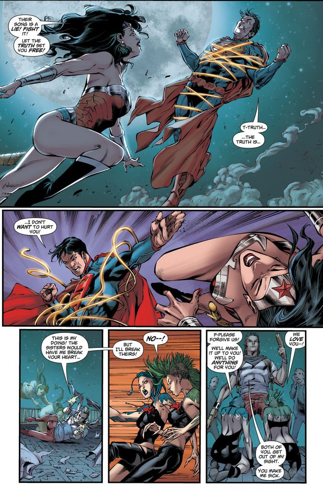 wonder woman dating superman games