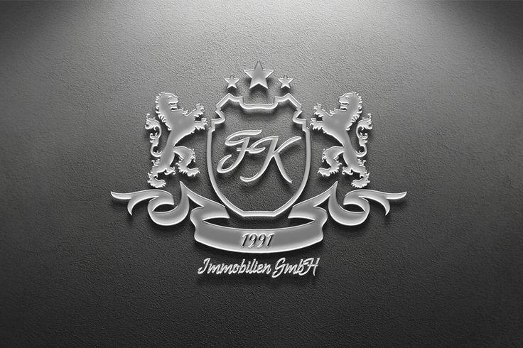 Logo for FK Immobilien Gmbh  Logo design for German real estate company.  Логотип для немецкого агентства недвижимости.  #logodesign #logo #identity #branding #brandidentity #corporatestyle #design #graphicdesign #logodesigner #adobe #corel #graphicdesigner #coreldraw #ryashin_com