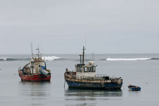 Fishing boats, Northern Cape by South African Tourism, via Flickr