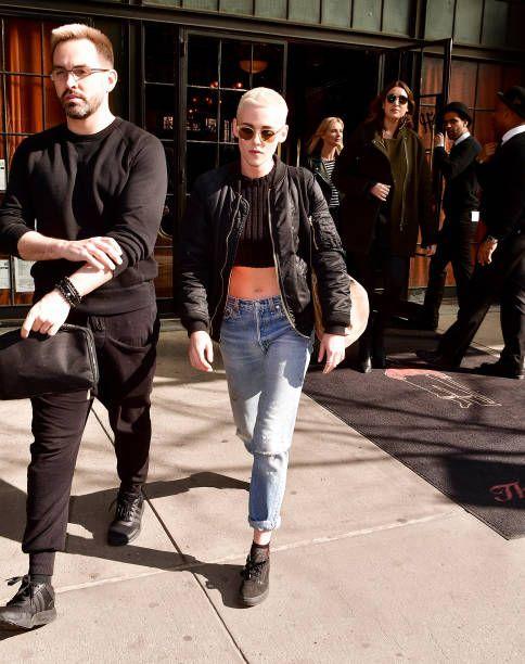 Kristen Stewart Seen On The Streets Of Manhattan On March