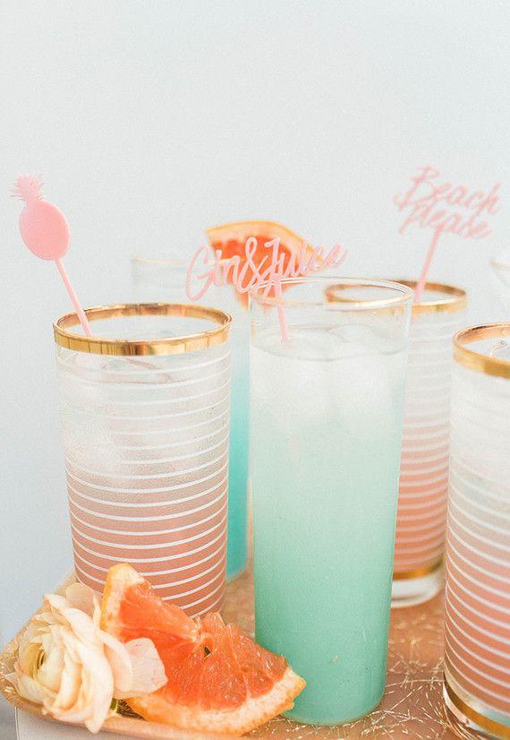 Party Cocktails Ideas Part - 33: Tropical Cocktails