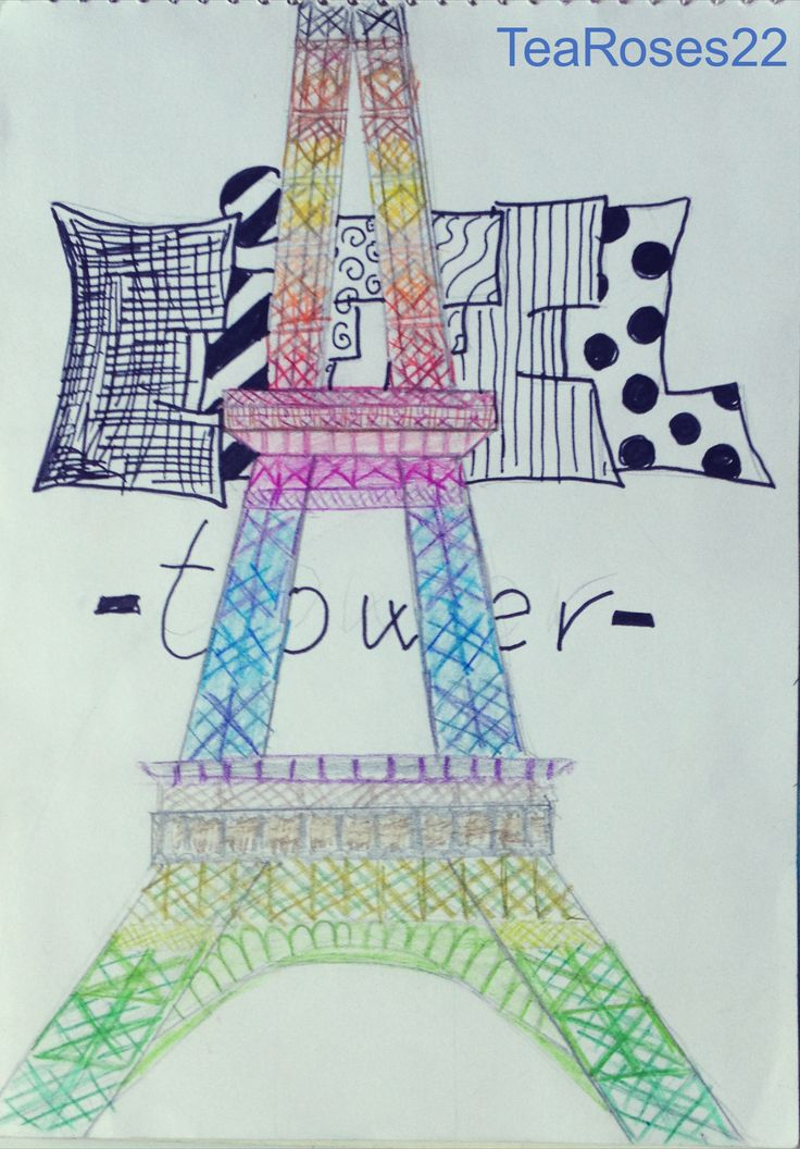Eiffel Tour Drawing! Have a travelling day!