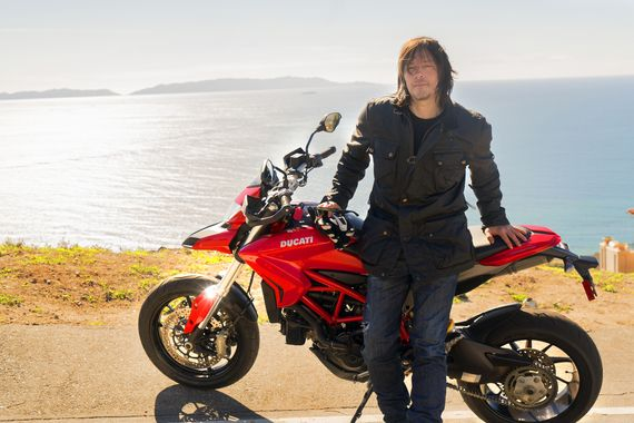 Norman Reedus Rides Out on His Own in New AMC Show, and It's Definitely Not The Wild One #iNewsPhoto