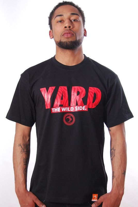 WILD SIDE, T-Shirt, Black