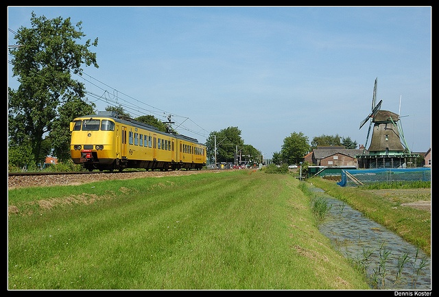 Train from Enkhuizen to Amsterdam