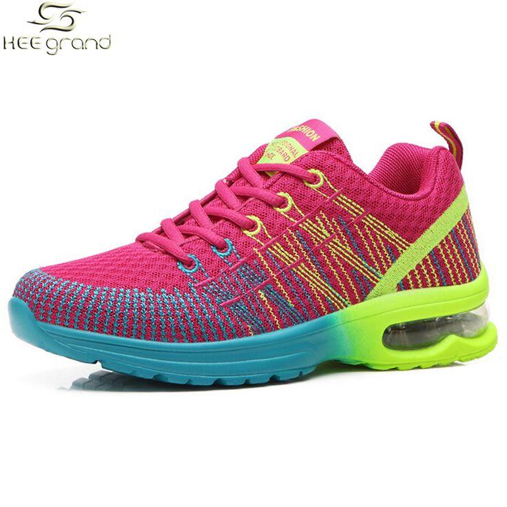 Wanita Sneakers Wanita Menjalankan Sepatu Bernapas Bantalan XYP418