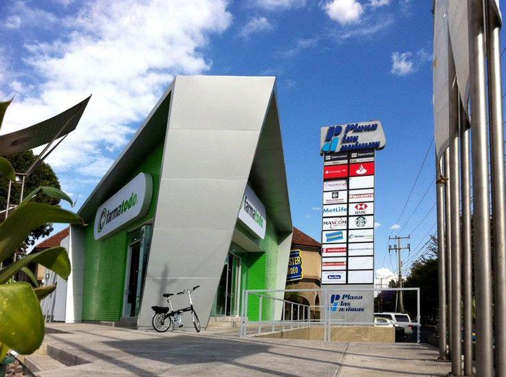 Farmatodo   Dionne Arquitectos #Architecture #exterior #power
