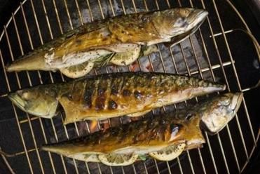 Recipe for grilled whole Spanish mackerel