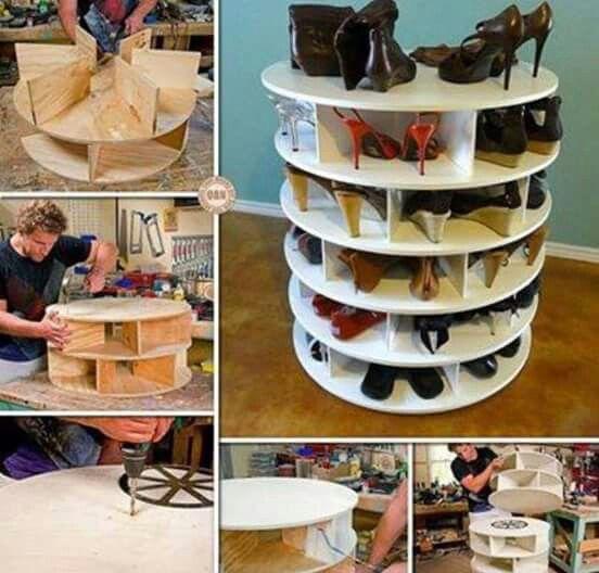 DIY para acomodar zapatos, es super facil