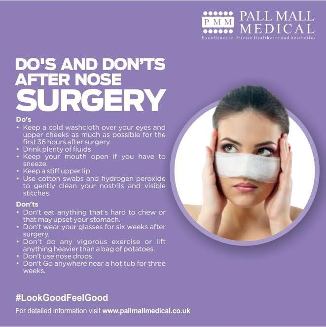 Private Nose Surgery rhinoplasty  https://www.pallmallmedical.co.uk/cosmetic-surgery/rhinoplasty  The nose is a delicate part of the body. Nose surgery at Pall Mall Medical, with one of our expert consultants, assures you of the best care and quickest recovery.