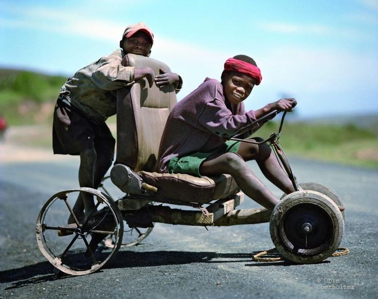 African go cart by Obie Oberholzer