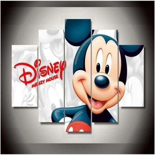 Mickey Mouse Mickey Mouse 5pc Framed Canvas. Check it out!
