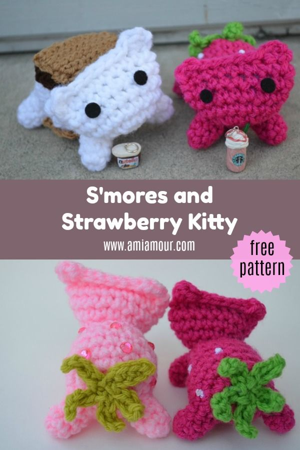 Amigurumi Kitty Cats! » Loganberry Handmade | 900x600