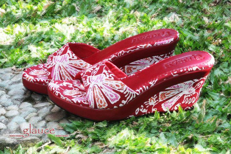 GLAUCE Wedges Batik Paoman