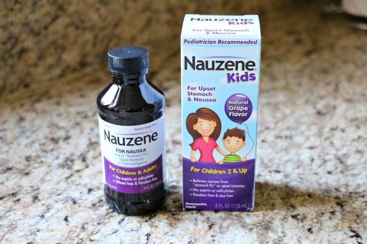To help settle upset tummies, reach for a gentle homeopathic formula –Nauzene Kids® Kids Liquid Nausea Relief.