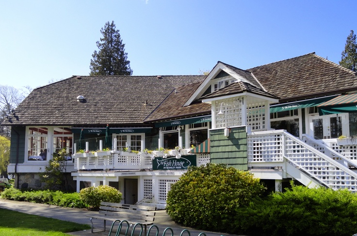 The Fishhouse Restaurant in Stanley Park - Vancouver