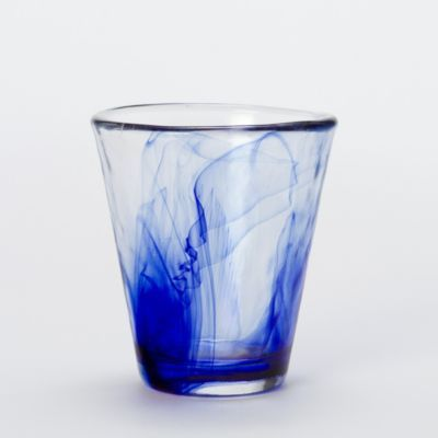 Cobalt Watercolor Glass at Terrain