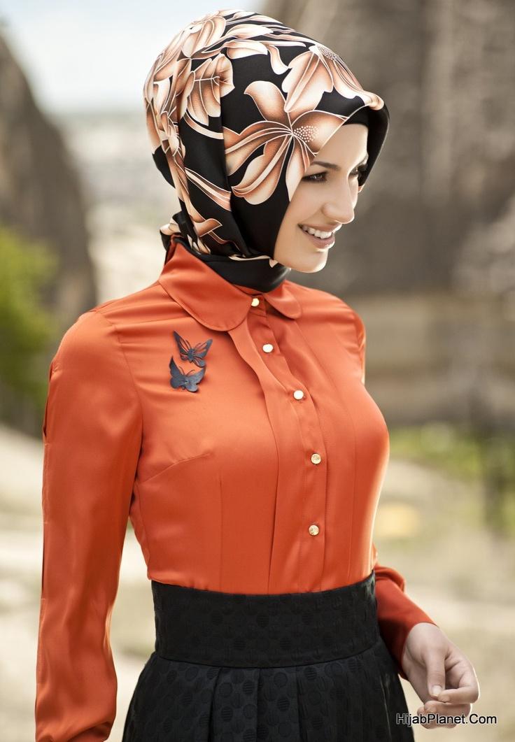 Armine Namra Silk Hijab - HijabPlanet.Com