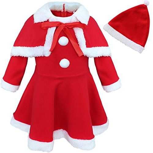 CHICTRY Baby Boys Christmas Long Sleeve Jumpsuit Pant Hat Santas Little Elf Outfits Clothes Set
