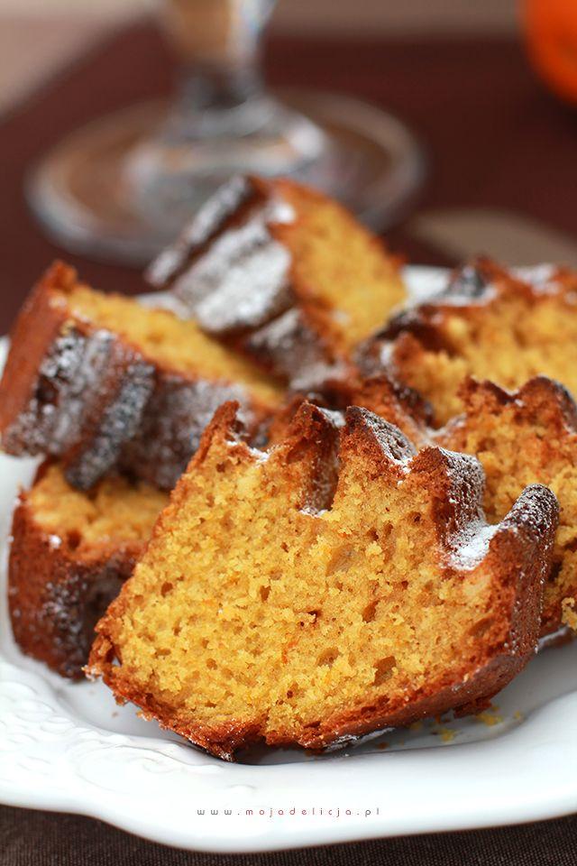 Proste ciasto pomarańczowe bez miksera