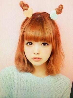 kawaii hair styles