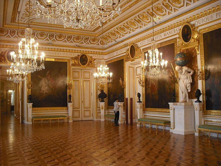 Warsaw, Kings Castle, Knight's Hall 1784-86, D. Merlini, J. Ch. Kamsetzer