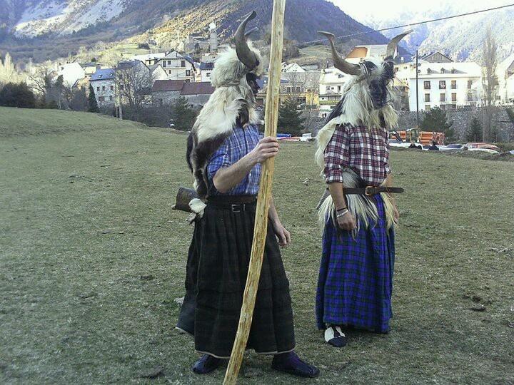 Trangas. Carnaval de Bielsa, Huesca, Spain