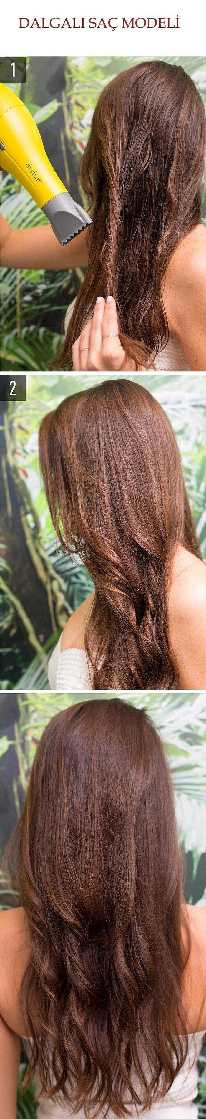 Dalgalı Saç Modeli @kadinedio #kadın #kadin #women #woman #saç #saçmodeli #sacmodeli #hairstyle #hair