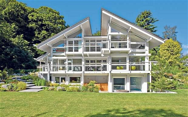 Hauf Haus, the ultimate German made self build kit house!, these are starting to become popular now in the UK, following a feature on one shown on the TV show Grand Designs.  I am interested in a self build and this could be one possible route to take, once we have saved up the money lol