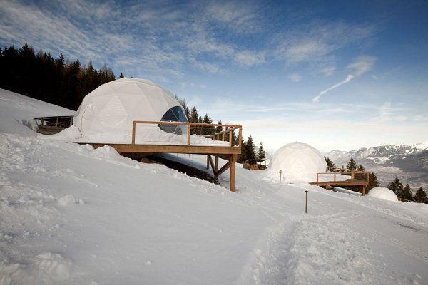 WhitePod Alpine Ski Resort 12
