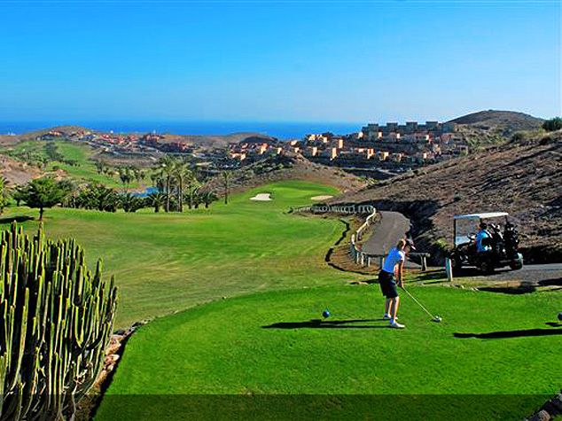 Golf course in Spain,