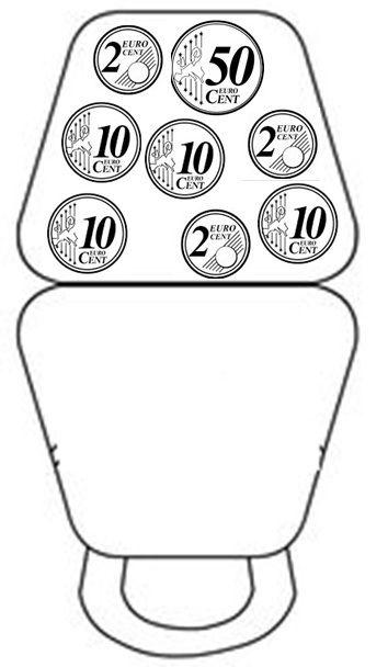 Monederos para trabajar la numeración