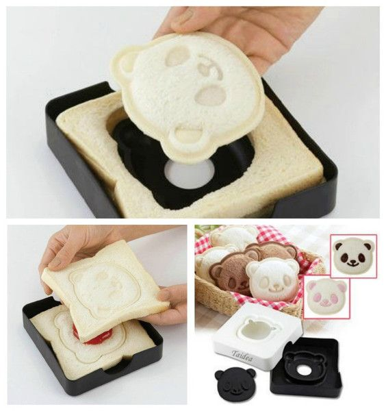 The Panda Pocket Sandwich Maker Bread Cutter Mold