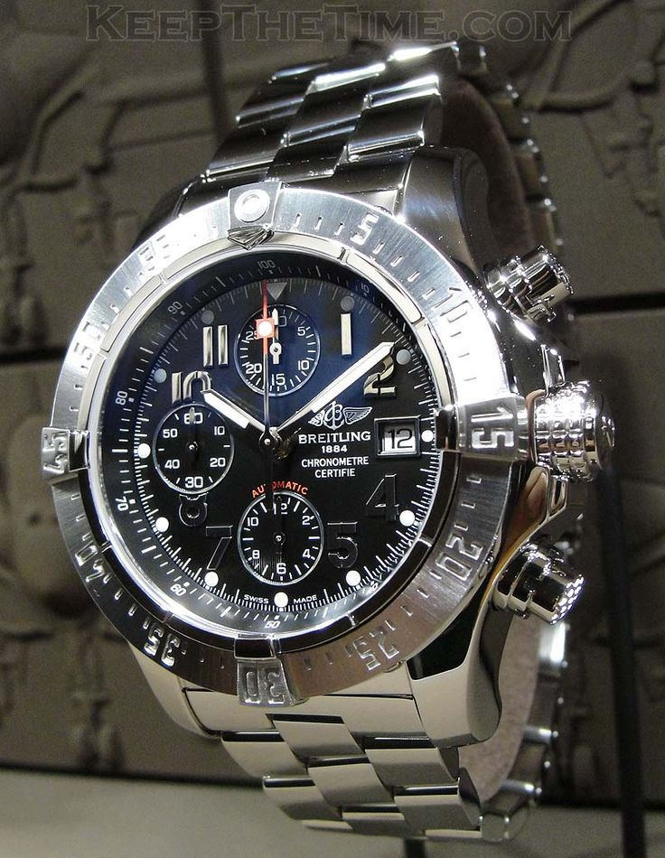 Baselworld 2011: Breitling Super Avenger - online shopping for watches, rose gold men watch, watches for ladies *ad