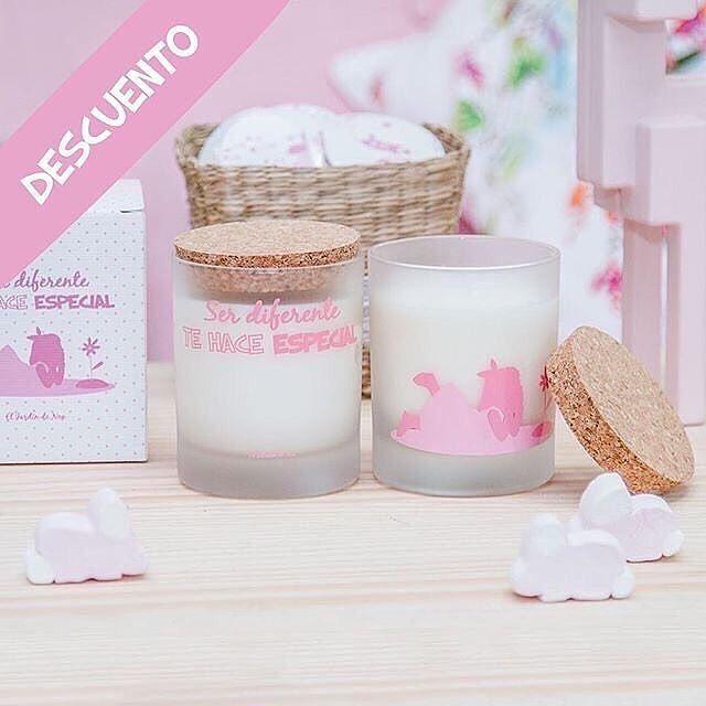 🎉¡DESCUENTAZO! Nuestra genial vela rosa a tan sólo 12,5€ 🎉 ✨¡Nunca olvides que eres único!✨ Tanto, tanto, como el aroma de nuestra #vela 😉 Disponible en nuestra tienda online www.eljardindenoa.com  #ElJardinDeNoa #RegaloOriginal