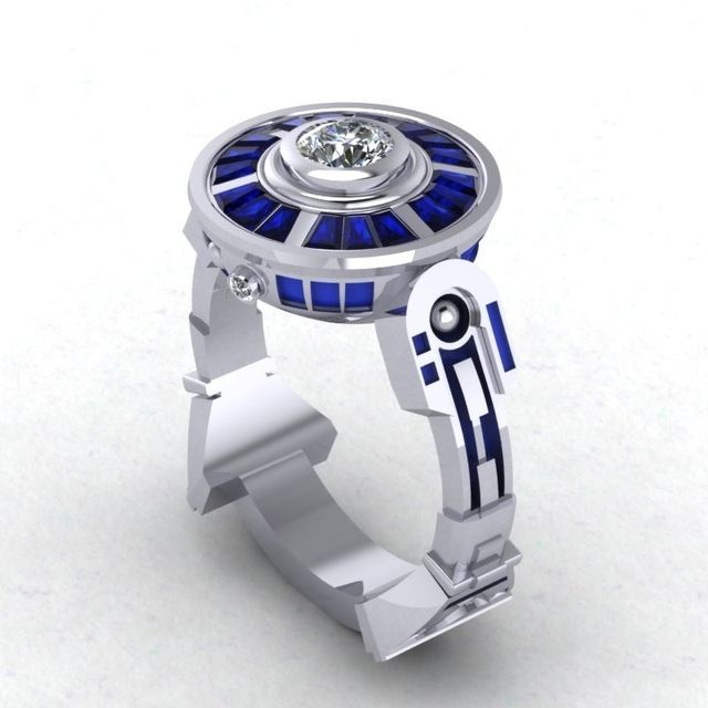 R2D2 Ring. Love this!