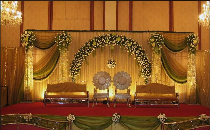 A WEDDING PLANNER: Indian wedding stage decorations and indian wedding mandap…