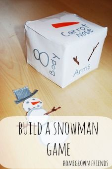 Build a Snowman Game  (Homegrown Friends) could be used for teaching body parts