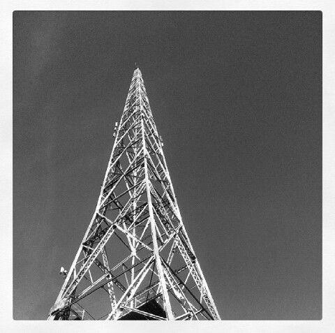 Lahti, Finland. Radiomasto.