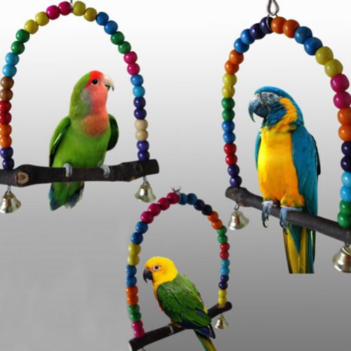 Colourful Bird Swing Toys //Price: $18.90 & FREE Shipping //     #petworld #dog #puppy #pet