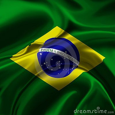 brazil flags   Brazil Flag Royalty Free Stock Photography - Image: 8888827