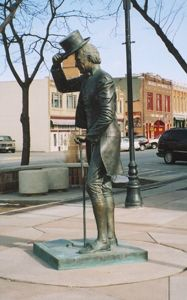 James Monroe - Fifth President of the United States (1817-1825) Corner of 7th St. & Main St.