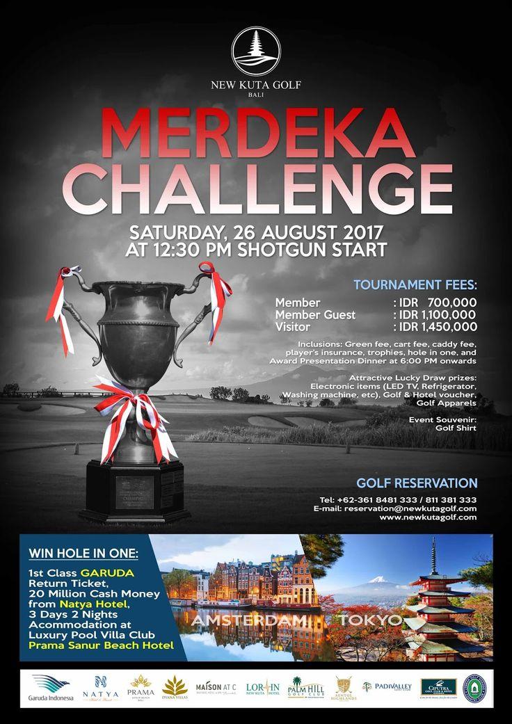 Merdeka Golf Challange 2017 - Hotelier Indonesia | Travel Blog & Golf