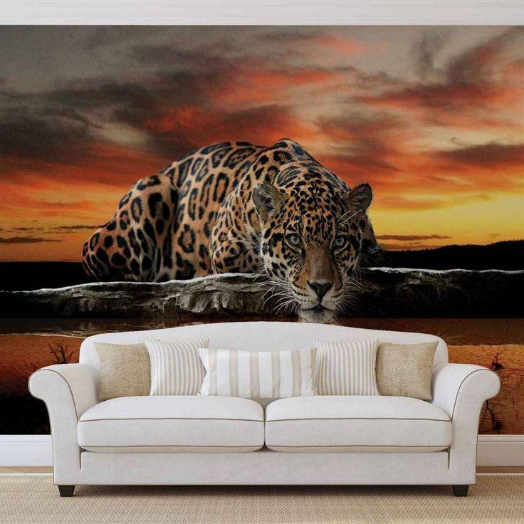 VLIES FOTOTAPETE Leopard TAPETE MURAL 126